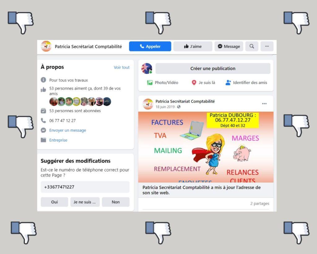 visibilité page pro facebook