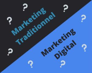 ORSON différence marketing digital et traditionnel